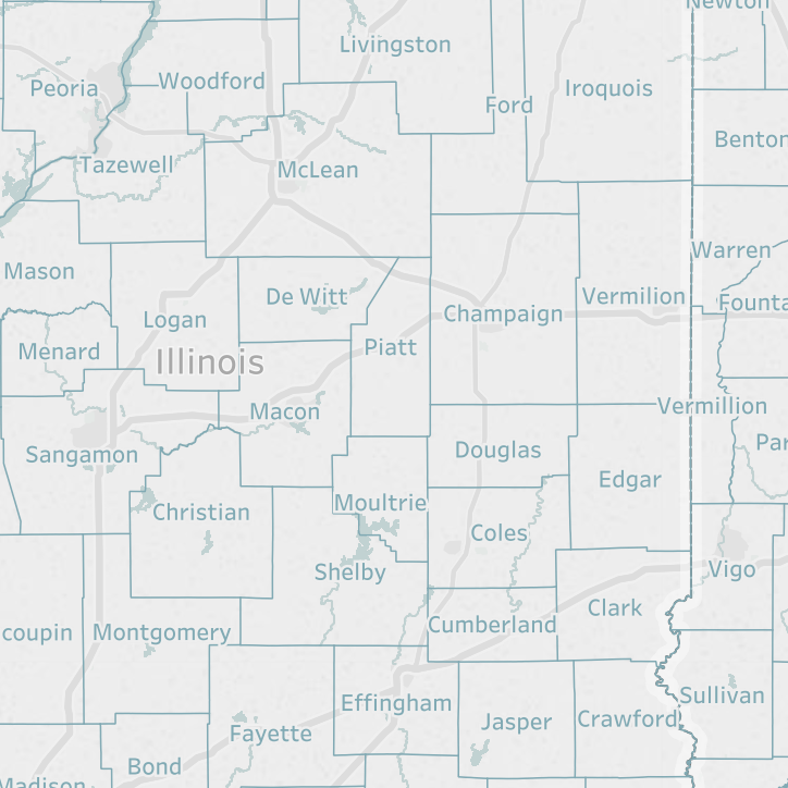District Interactive Map: STATS Indiana on illinois department of public health regions, illinois dhs region map, chicago region, illinois state region,